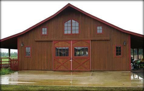 Metal Shop With Living Quarters Floor Plans by Access Gambrel Barn Plans With Living Quarters Backyard