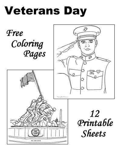 veterans day coloring page to print veterans day activity sheets kids search results