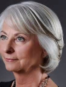 medium length hairstyles for 60 silver hair color for hairstyles for women over 60