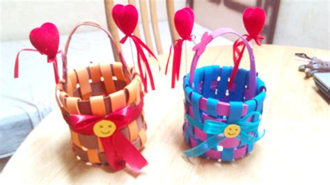 Some Handmade Crafts - how to make diy foam basket how to make diy