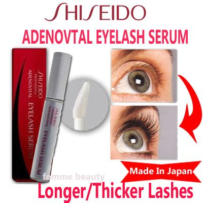 Shiseido Eyelash Serum shiseido adenovital eyelash serum longer lashes thicker
