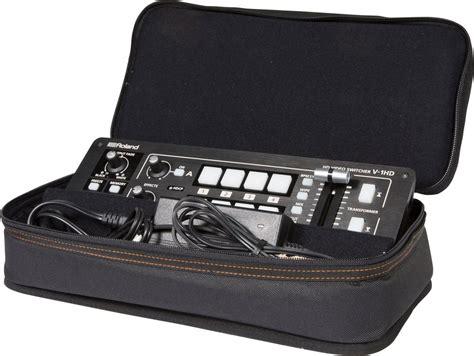 Roland V 1hd roland v 1hd 4 channel digital mixer w bag pssl