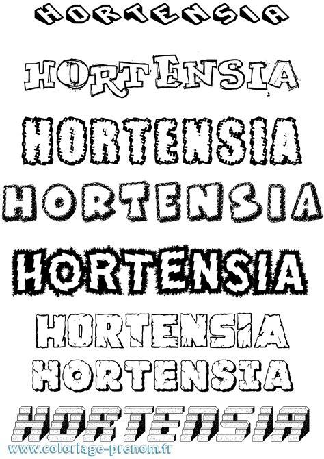 Dessin Hortensias Coloriage - OHBQ.info