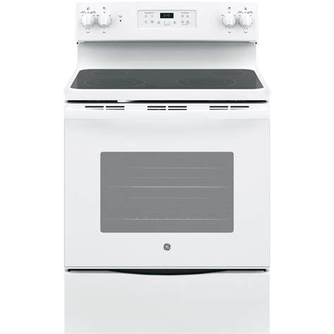 ge 30 in 5 3 cu ft free standing electric range with
