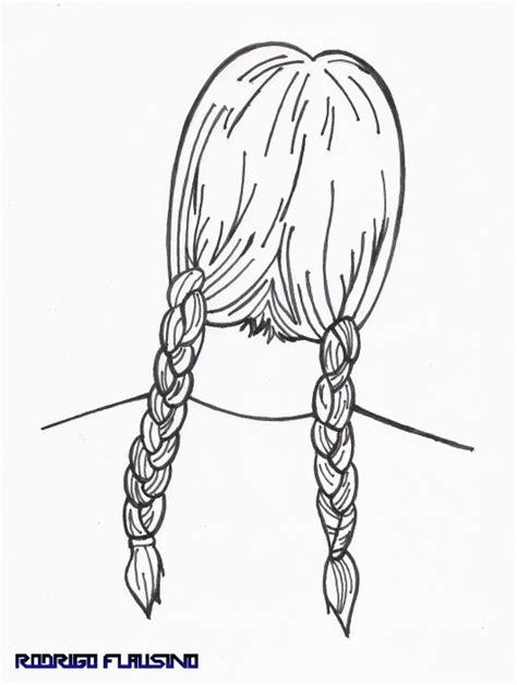 desenho cabelo desenho de cabelo feminino 231 as usando canetinha