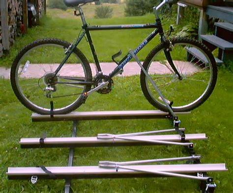 Pop Up Cer Bike Rack Plans by Pvc Bike Car Plans Newhairstylesformen2014