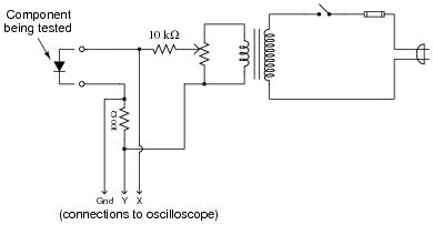 diode curve tracer schematic rectifying diodes discrete semiconductor devices and circuits worksheets