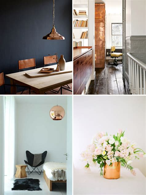 home ideas 24 home d 233 cor ideas with copper digsdigs
