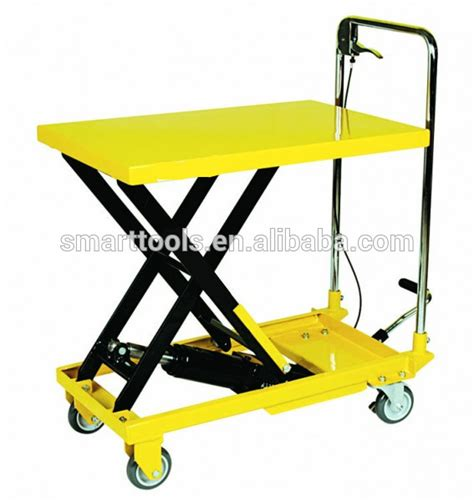 hydraulic lift table cart 150kgs 300kgs 500kgs hydraulic lift table cart buy