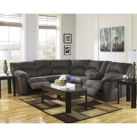 ashley pewter sectional rent to own ashley tambo sectional national rent to own