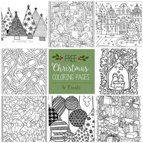 christmas coloring books coloring town free christmas adult coloring pages u create
