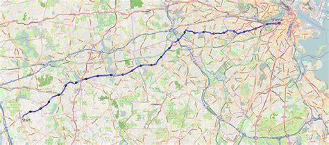 boston marathon route map boston archives free tours by foot