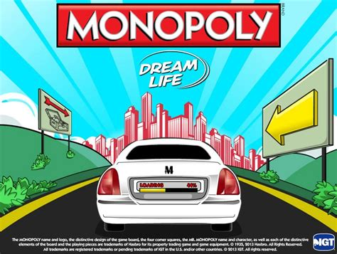 play monopoly dream life slot game