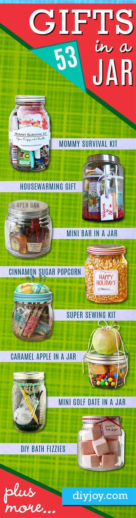 Fun Gifts Ideas by Best 20 Gift Jars Ideas On Pinterest Gifts In Jars