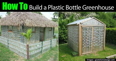 how to build your house is building a plastic bottle greenhouse for real