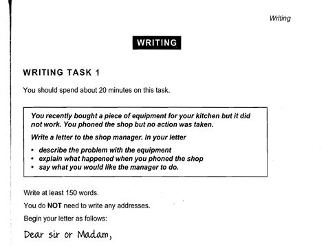 Ielts General Writing Task 2 Sle Essay general writing task 1 cambridge ielts book 8
