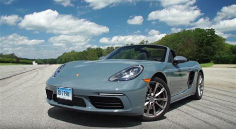 porsche price porsche 718 boxster review by consumer reports ends with