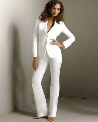 white pant suit always wanted a white pant suit this will be one of the things i will wear when i