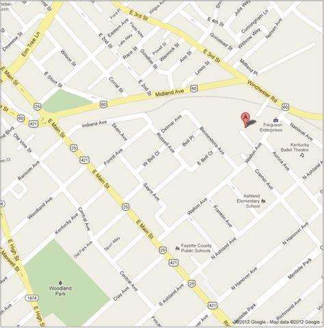 ky map downtown jeffrey tuttle md pllc