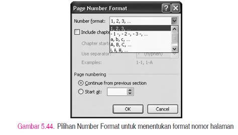 memberi nomor halaman word jelaskan cara memberi dan menghapus nomor halaman ada