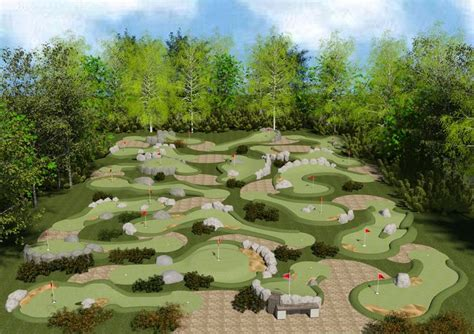 design your dream mini golf course drawings of mini golf courses for permits google search
