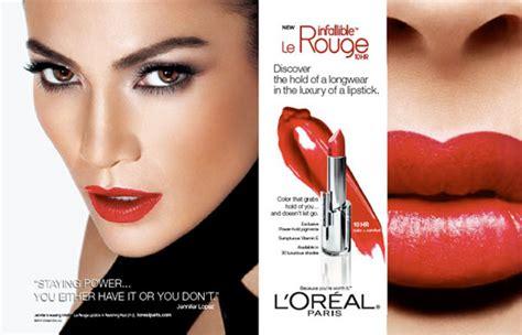 Makeup Loreal singer endorsements advertisements