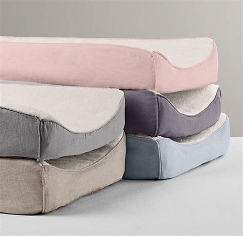 washed organic linen changing pad cover changing pads