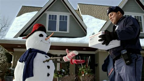 usps commercial actress united states postal service usps tv commercial snowman