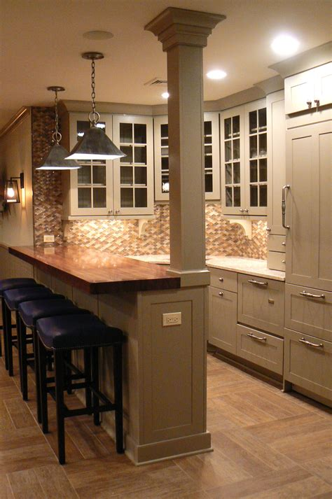 kitchen bar top ideas basement bar for home