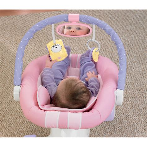 Fisher Price Pink Bouncer Chair by Fisher Price Pink Cruisin Motion Soother Baby Chair Seat