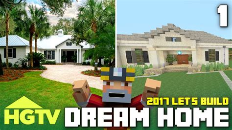 hgtv home design youtube minecraft xbox one let s build the hgtv dream home 2017