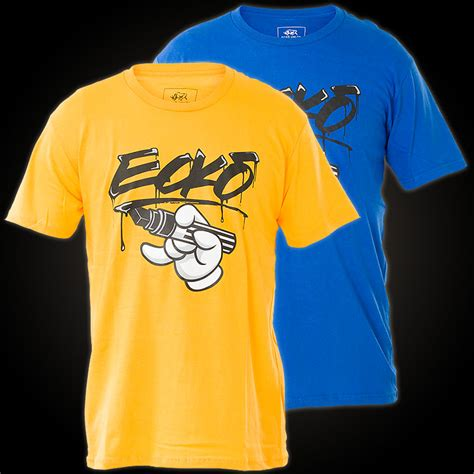 Tshirt Ecko by Ecko Unltd T Shirt Handstyles Shirt With A Large Print