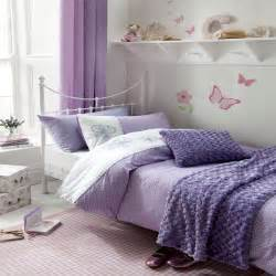 Flutterbye double girls lilac purple butterfly duvet cover duvet
