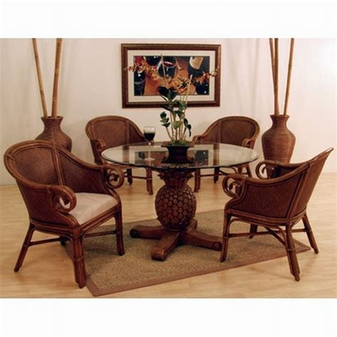 indoor wicker dining room chairs enchanting wicker dining chairs indoor with round glass