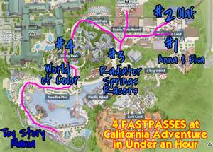 world of color fastpass magical ways to start your disneyland days