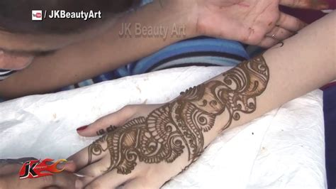 jk tattoo design time lapse mehndi design how to apply henna mehndi