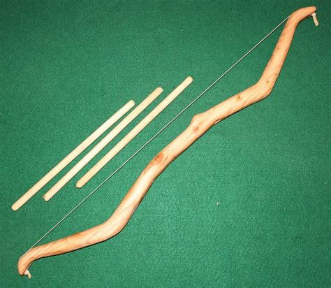 Handcrafted Bows - crafted wood bow and arrow 39 00 via etsy