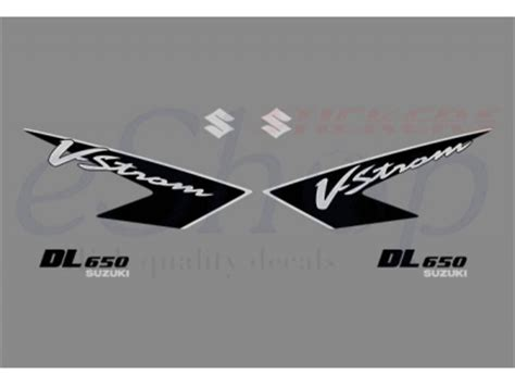 Suzuki Dl 650 Aufkleber by V Strom Dl 650 2005 2008 Set 4 Eshop Stickers