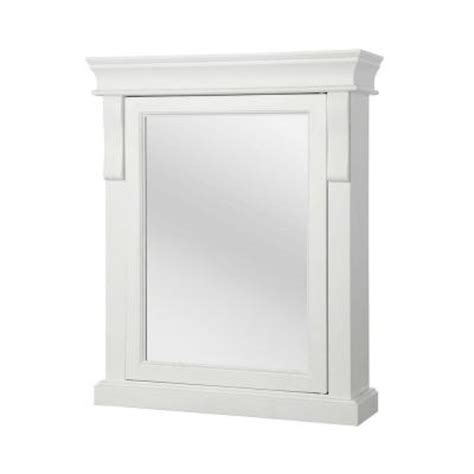foremost naples medicine cabinet foremost naples 25 in w x 31 in h surface mount medicine cabinet in white nawc2531 the home