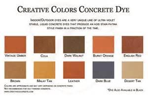 concrete dye colors san antonio decorative concrete treatments dallas