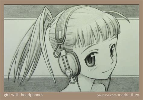 how to draw by markcrilley with headphones by markcrilley on deviantart
