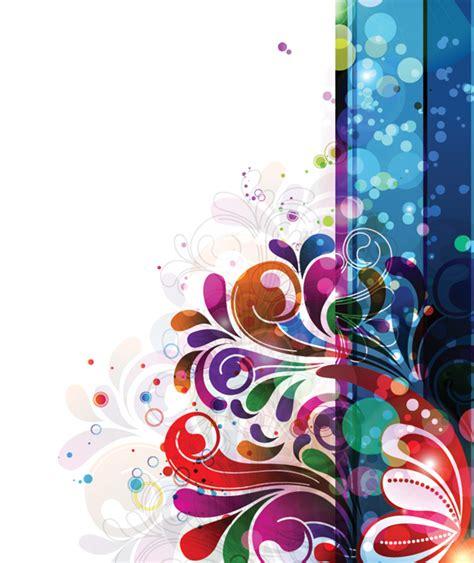 colorful floral design background illustrator vector pack de vectores profesionales para descargar diego berm 250 dez