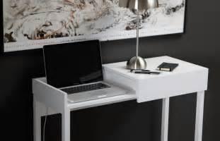 Desk For Laptops Modern Desk Featuring Secret Storage For Laptop Users Home Building Furniture And