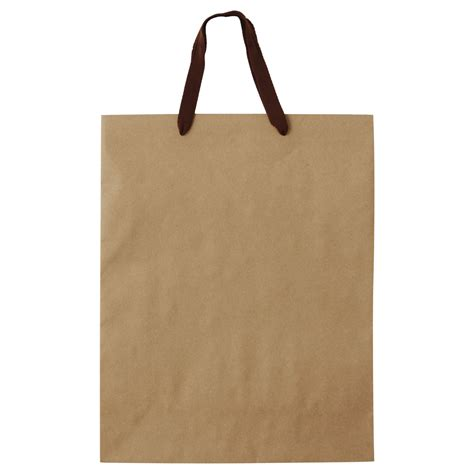 Paper Craft Bags - recycled kraft paper bag l 320 420 115mm muji