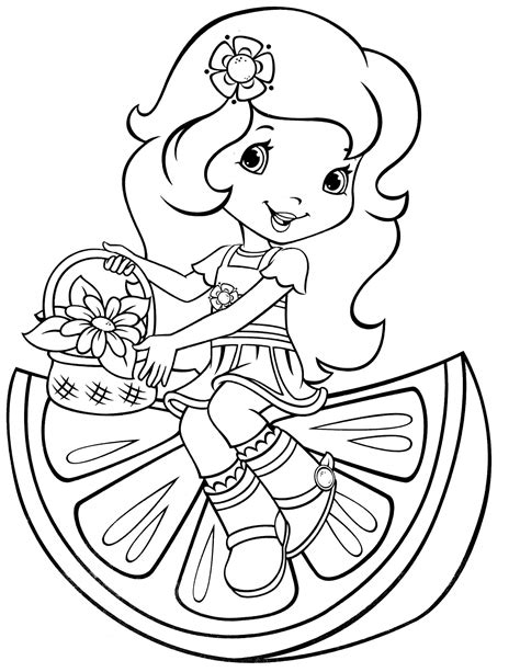 strawberry shortcake 51 coloringcolor com
