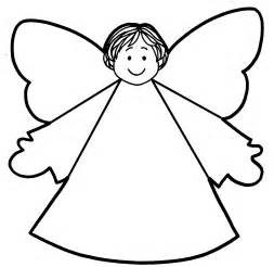 angel templates for kids clipart best