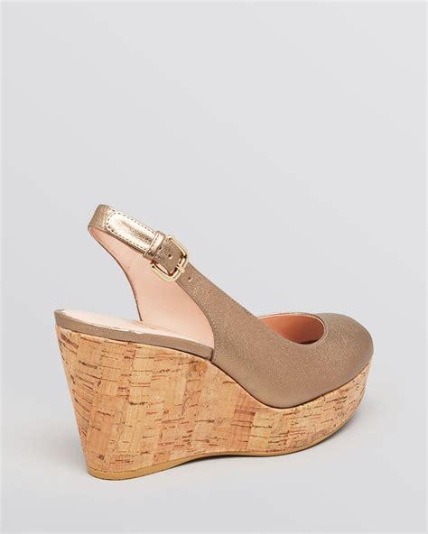 stuart weitzman peep toe platform wedge sandals jean in