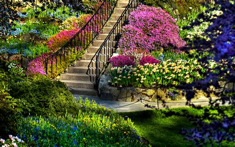 Lush Greenery Pictures Beautiful Gardens Wonderwordz Beautiful Garden Flower