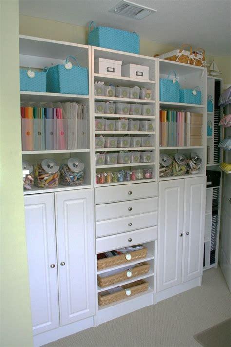 craft room storage cabinets scrapbook room organization craft rooms