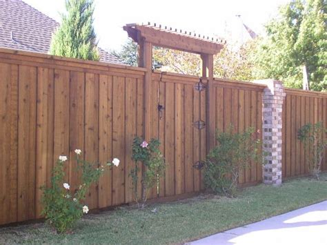 wood fence gate  pergola   entrance home